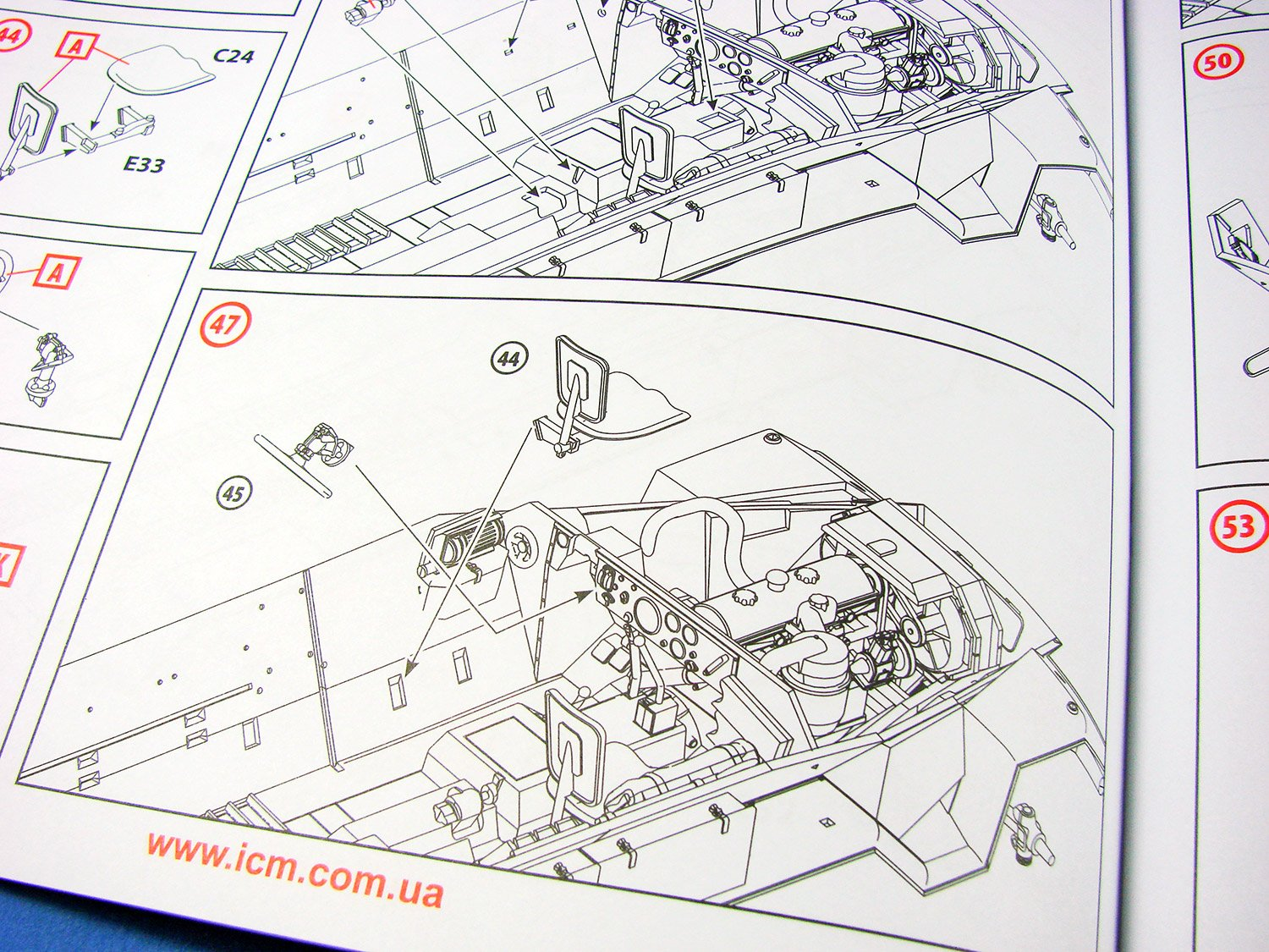 Icm 251 Wiring Diagram Trusted Diagrams Circuit Board 1 35 Sd Kfz Ausf A Armour Afv Reviews Large Scale Modeller Ladder