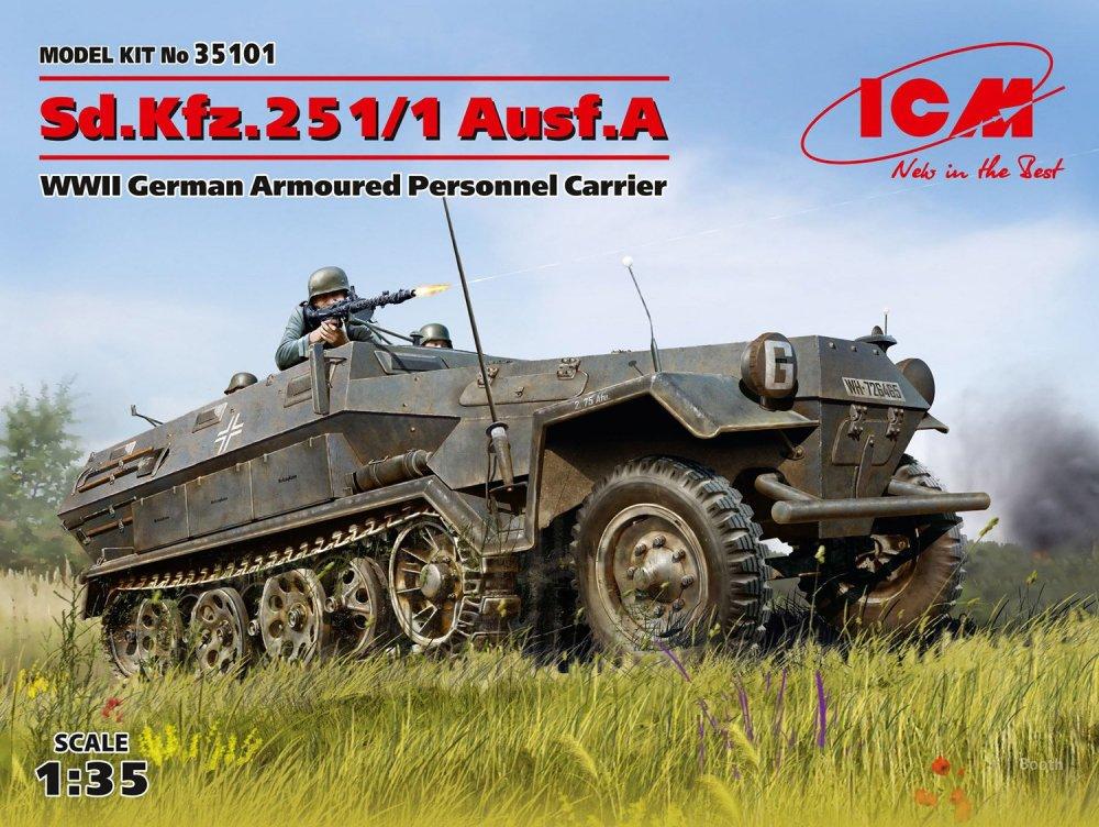 icm 1/35 sd kfz 251/1 ausf a