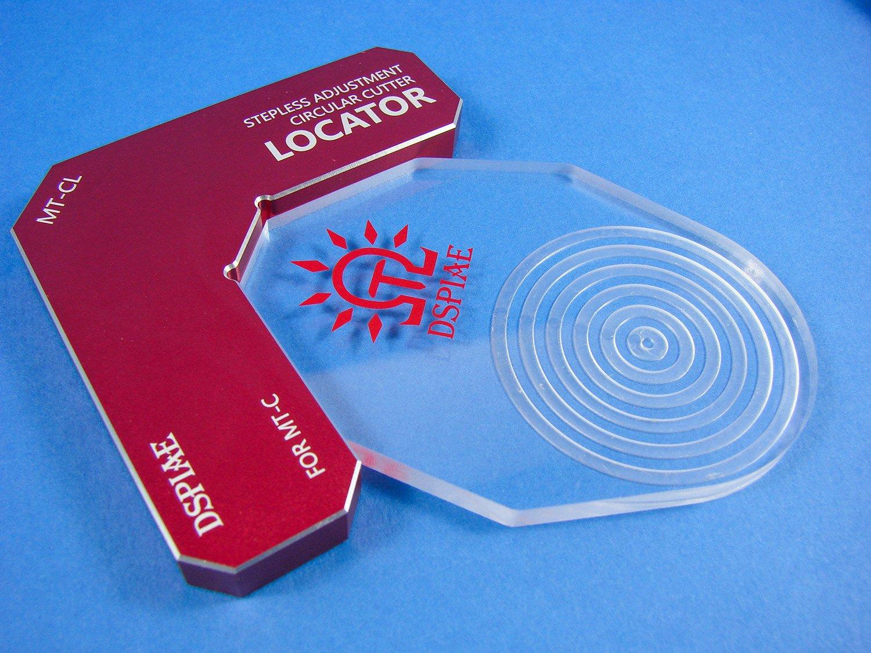 Stepless Adjustment Circular Cutter Locator - Tools, Books
