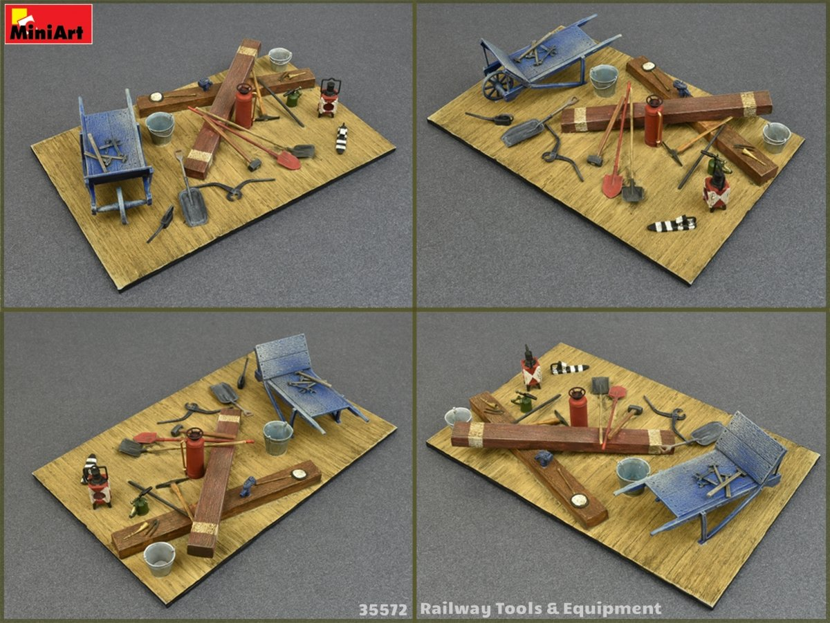 1:35 Railway Tools & Equipment - LSM-Related Reviews