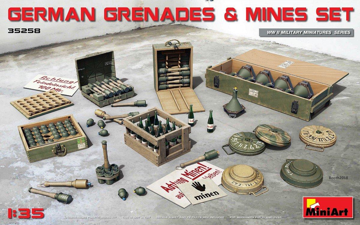 1:35 German Grenades & Mines Set - LSM-Related Reviews