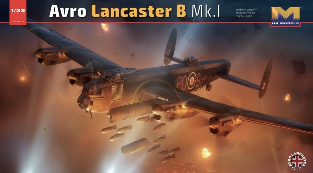1:32 Avro Lancaster B Mk I - FIRST LOOK - Aircraft Reviews