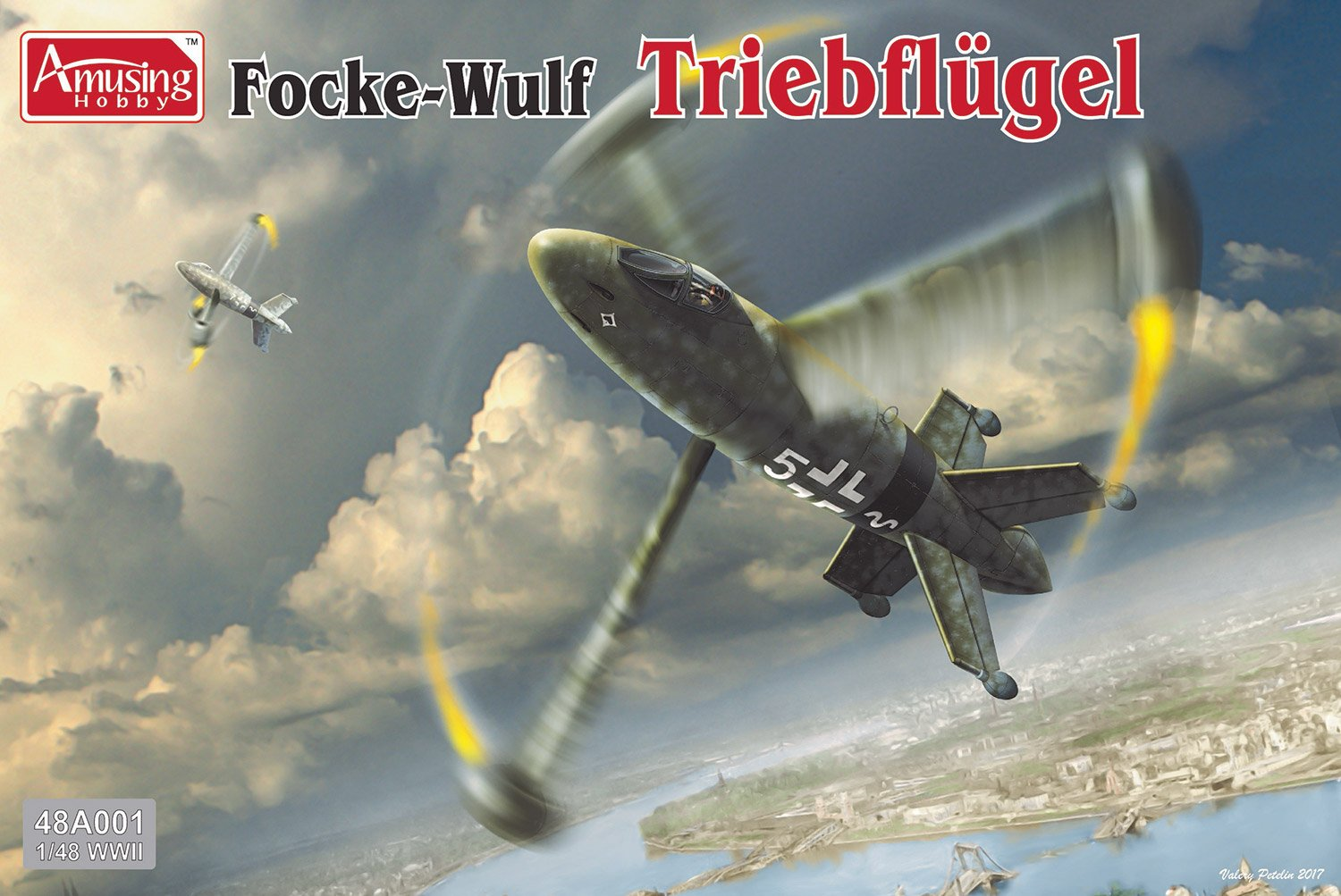 1:48 Focke-Wulf Triebflügel - Non-LSM Reviews - Large Scale