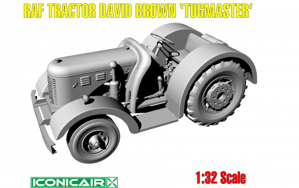 Iconicair David Brown RAF Tugmaster Tractor 009.jpg