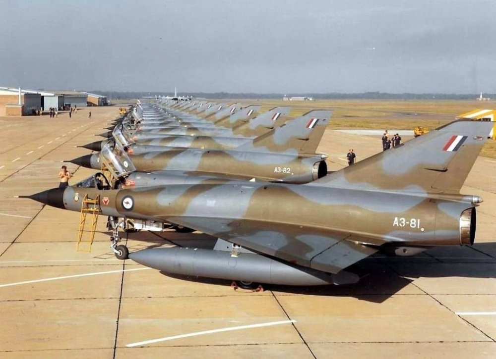 RAAF Mirage III-OA's at Willytown.jpg